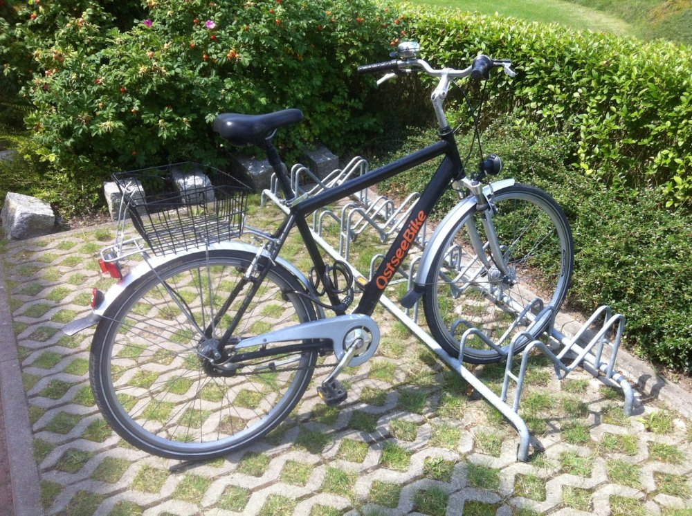 2012 Fahrrad Bad Doberan zappanale Ostsee Mecklenburg-Vorpommern