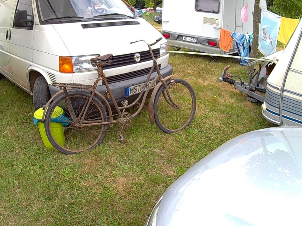 2013 Rostock Camper Fahrrad Bad Doberan zappanale Ostsee Mecklenburg-Vorpommern