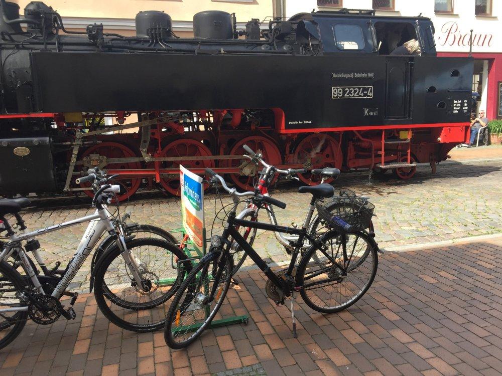 2017 Rostock Fahrrad Bad Doberan zappanale Molli Ostsee Mecklenburg-Vorpommern