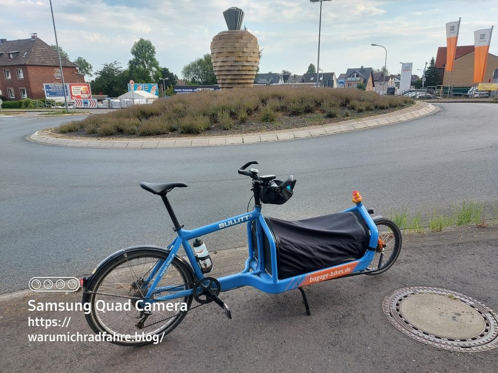 Punta Velo Showroom Essen Bullitt Cargo Bike Hinfahrt Rommerskirchen Rübe