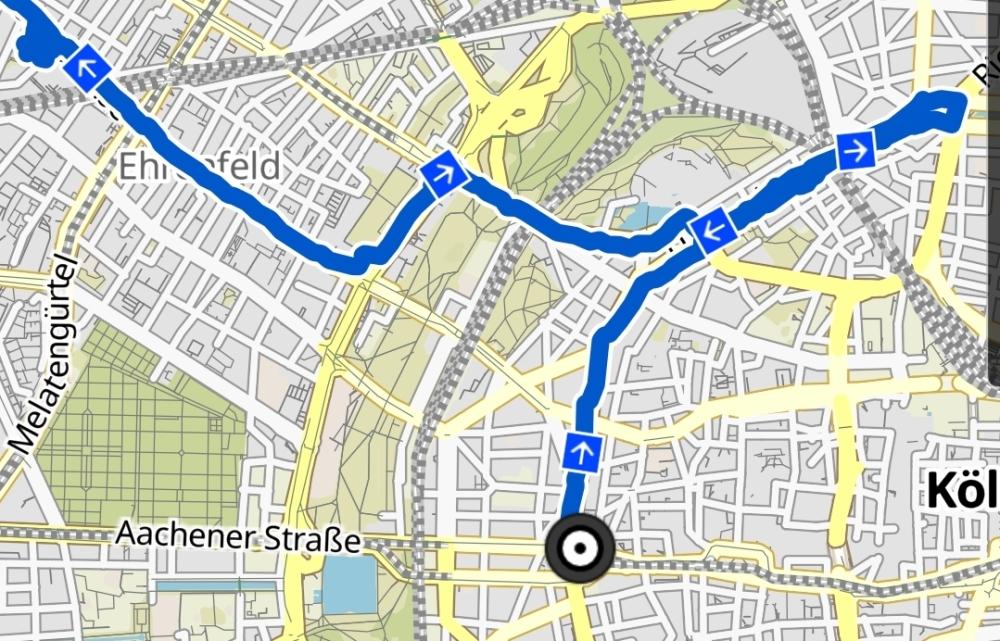 Route, Kidical Mass Köln, Weltkindertag, Komoot, Köln, Ehrenfeld, Rudolfplatz, Bürgerzentrum, Büze