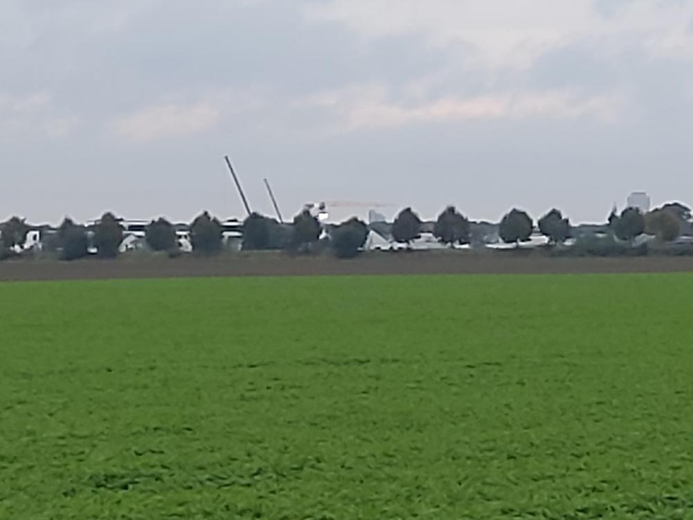 Köln, Panorama, Skyline, Dom, Colonius, Helios, Heliosschule, Ehrenfeld, Kran, Stahlträger,