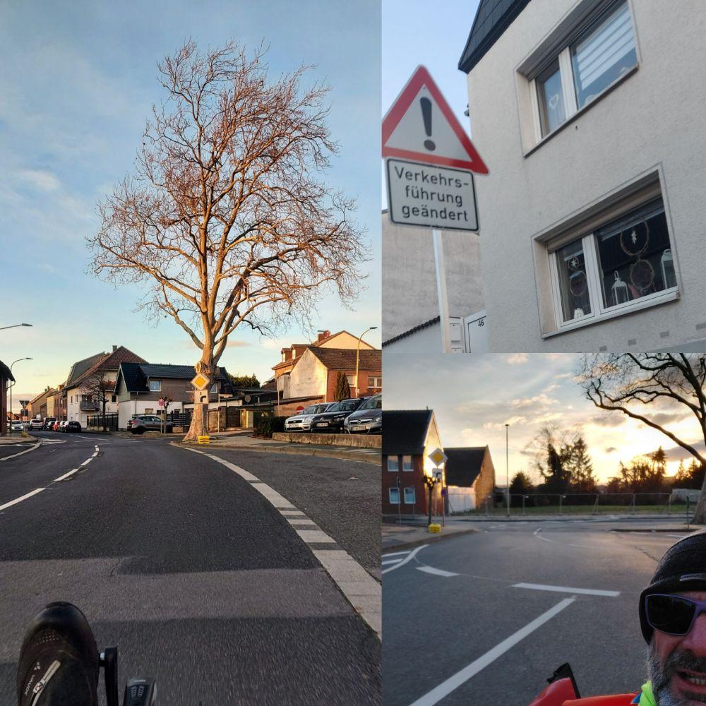 #bahnradweg #veraenderung #wordpress #bluemoon #Skorpion #kreisverkehr #vorfahrt