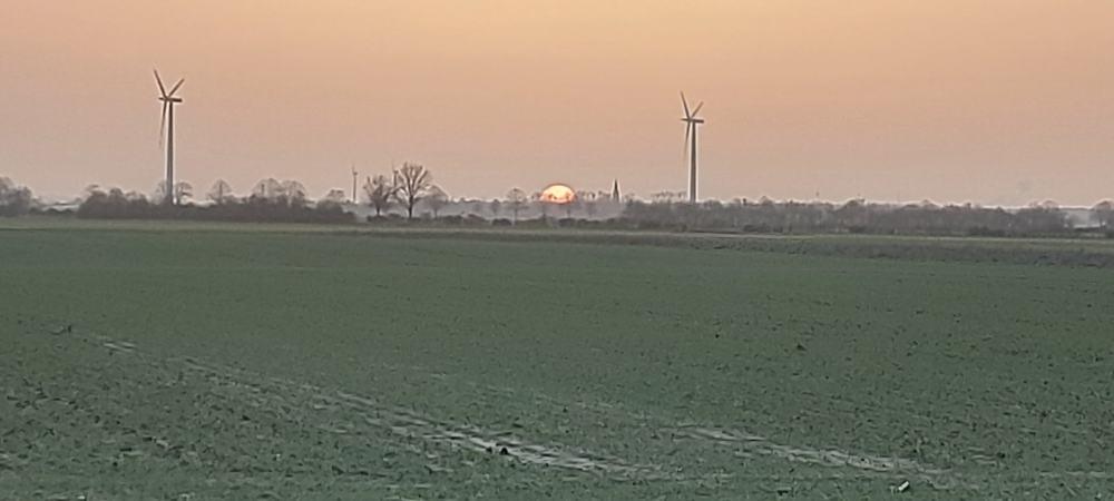 #Sindorf.#NeuManheim,#Bahnradweg,#Sonne,#Sonnenuntergang,#Abend,#Dämmerung,