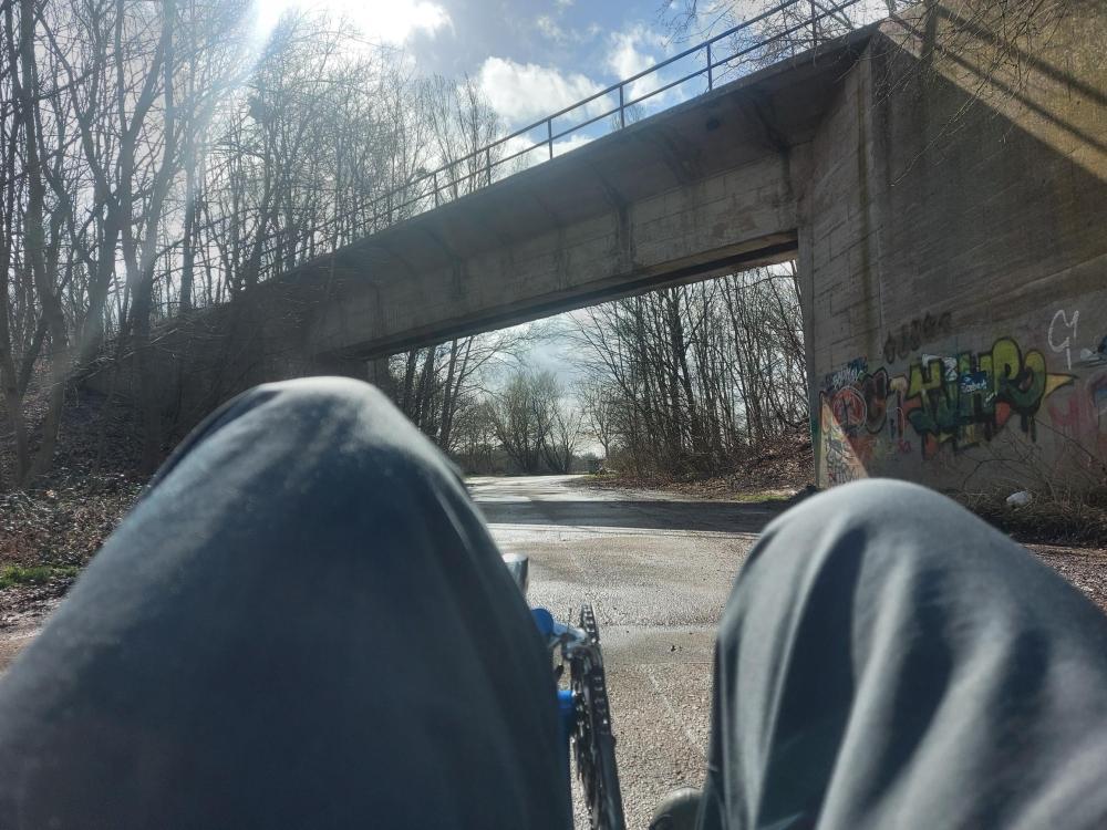 #Erftradweg, #BerrenratherBörde, #Kieswerkstraße, #Grefrath, #Marienfeld, #BlauerSkorpion, #Kohlebahn, #Braunkohle, #Pabsthügel,#Bahndamm,