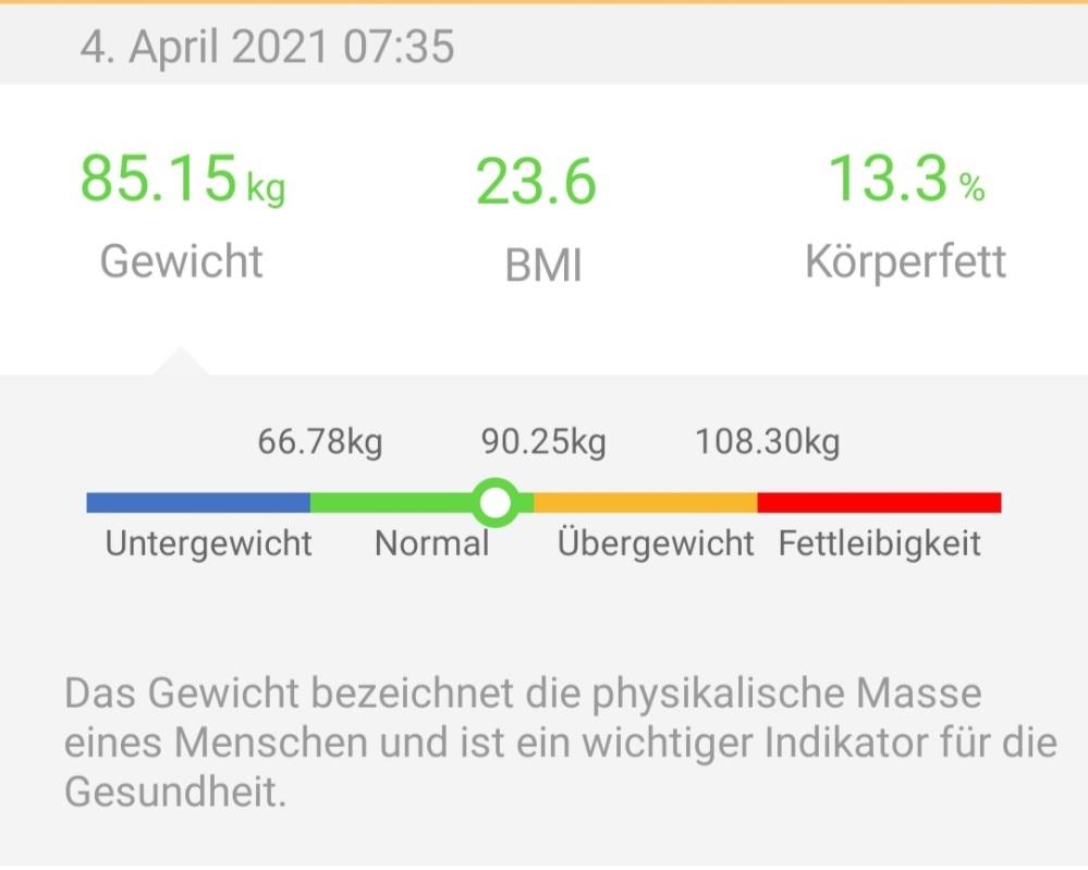 #Gewicht, #Abnehmen, #Fastenzeit, #Sport, #Training, #Ernährung, #FeelFit, #GoogleFit,