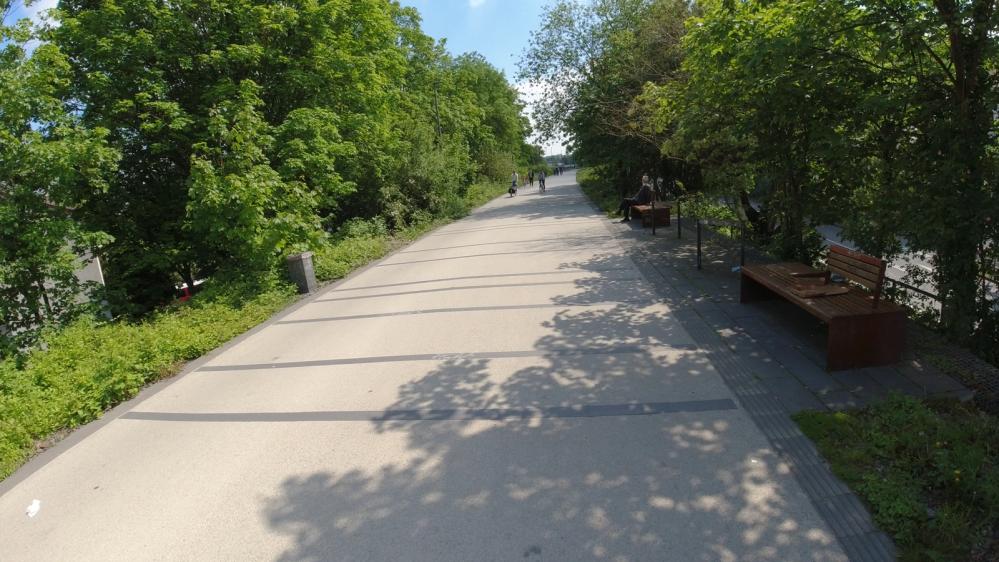 #Radschnellweg, #RS1, #Mülheim, #Kopfsteinpflaster, #schwellen, #langsam, #schnell,