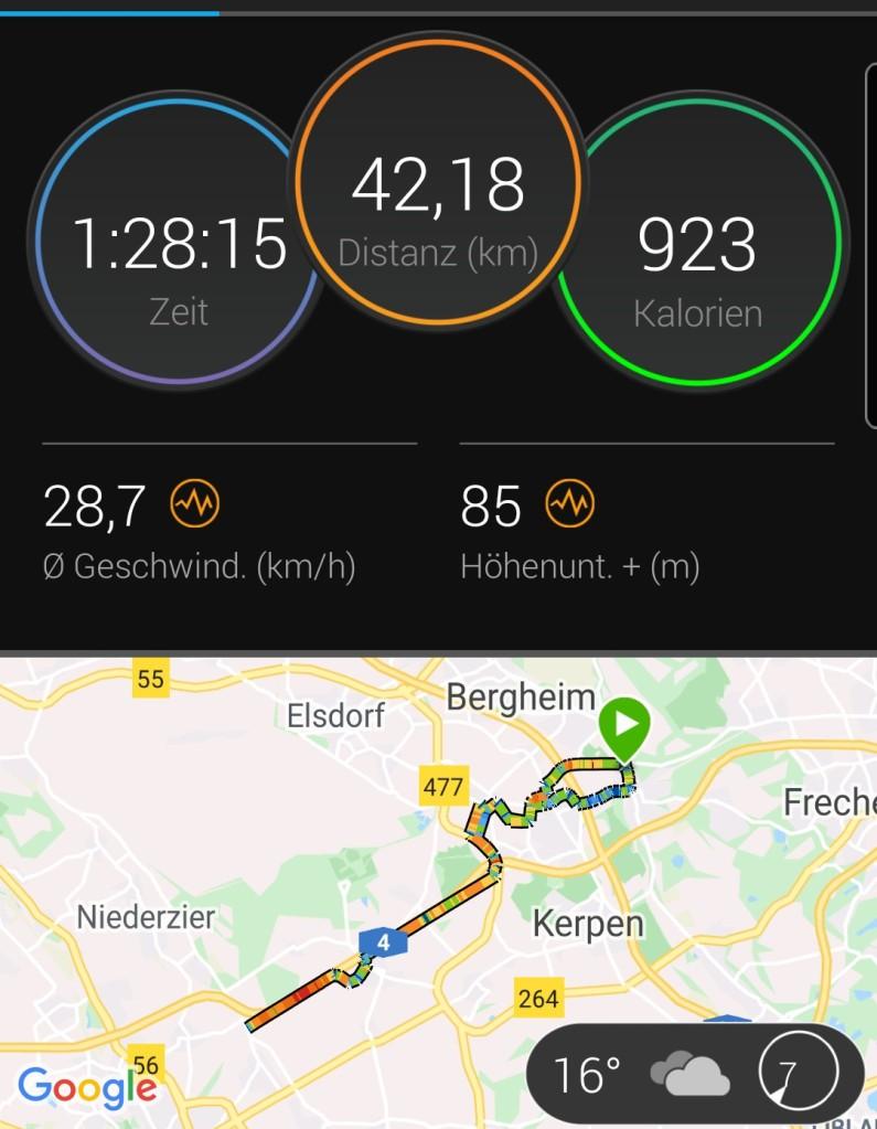 #morning, #ride, #morningride, #garmin, #forerunner, #forerunner235, #gps, #rennrad, #stevens, #puls, #herzfrequenz, #aerob, #connect, #garminconnect,