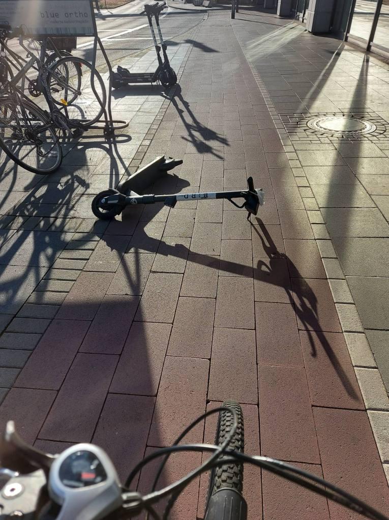 #Köln, #AachenerStraße, #Ast, #Sturm, #Radweg, #EScooter,