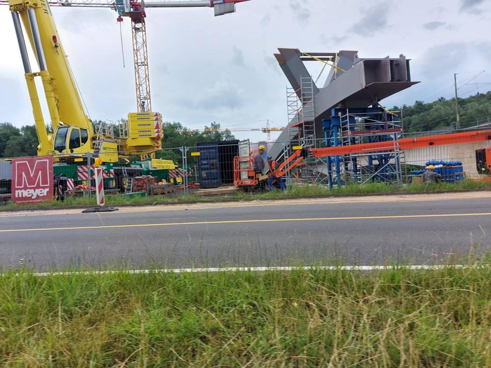 #Autobahn, #Abfahrt, #Brücke, #Bahn, #Überführung, #A4, #AachenerStraße,